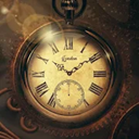 Oplao gold watch icon