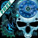 Steampunk clock wallpaper icon