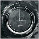 Oplao clock black icon