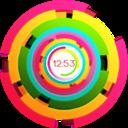 HD color clock icon