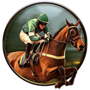 Horse racing and betting game icon